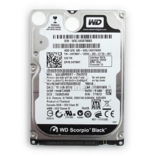 HDD Laptop 160GB 7200RPM Cũ