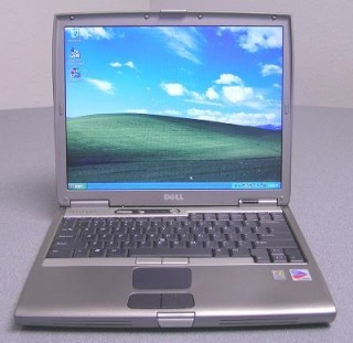 Laptop Cổng LPT Dell D600 Win XP
