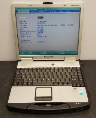 Toughbook CF-74 T2400|2G|40G|13.3 inch