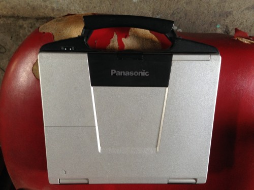 Panasonic Toughbook CF-74 Win XP SP3 Cổng COM