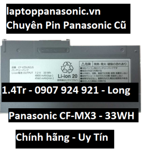 Pin Battery Panasonic Let Note CF-MX3 MX4 MX5