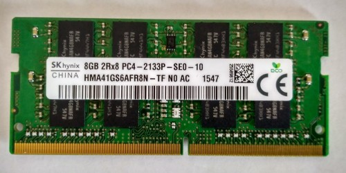 Ram Laptop DDR4 Hynix 8GB 2133 1.2V